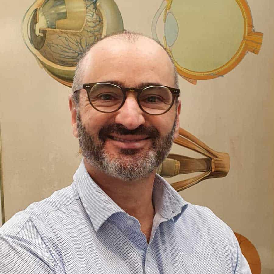 Norman Russo, Optometrist at The Eye Collective Dandenong